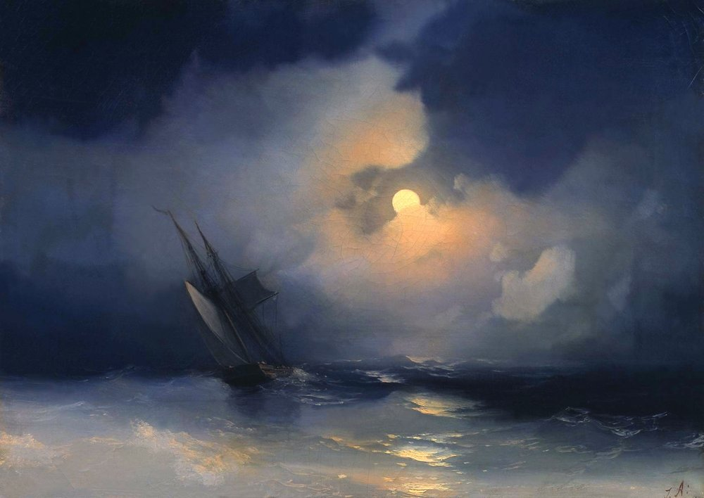 storm-at-sea-on-a-moonlit-night